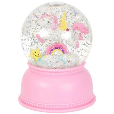 Boule à neige lumineuse Licorne  par A Little Lovely Company