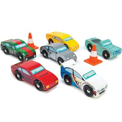 Lot de 6 voitures Monte Carlo  par Le Toy Van