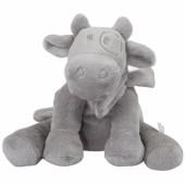 Peluche vache gris clair Lola Poudre d'étoiles (40 cm)  - Noukie's