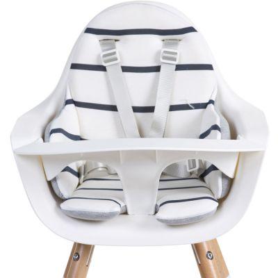 Coussin de chaise haute Evolu éponge Marin  par Childhome