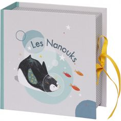 Coffret souvenirs pingouin Les Nanouks