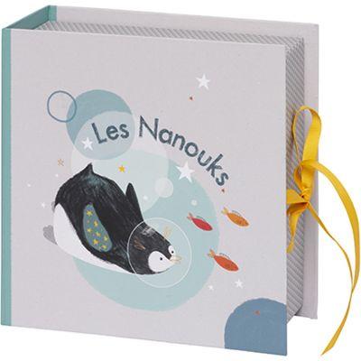 Coffret souvenirs pingouin Les Nanouks  par Galipette
