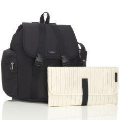Sac à dos à langer de voyage Backpack noir