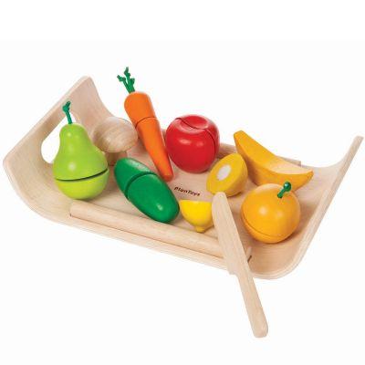 Plateau fruits et légumes  par Plan Toys