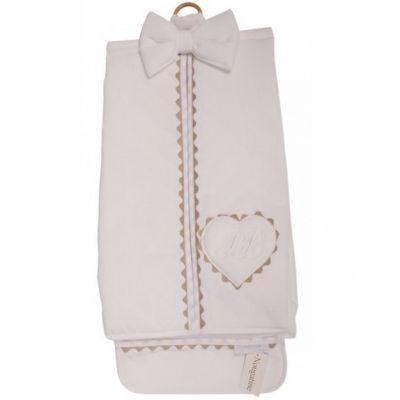 Porte couches Emma blanc  par Nougatine