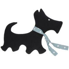 Coussin doudou chien (32 x 42 cm)