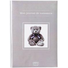 Mon journal de naissance Ourson taupe (40 pages)