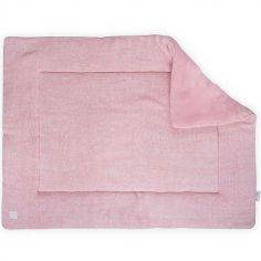 Tapis de jeu Melange knit rose poudré (80 x 100 cm)