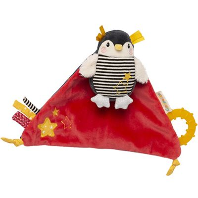 Doudou de dentition Super Pingouin Les Nanouks  par Galipette