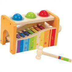 Banc à marteler avec xylophone