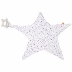 Doudou étoile avec anneau de dentition espace