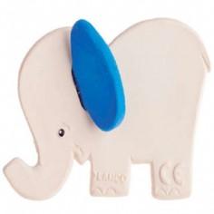 Elephant bleu latex d'hévéa