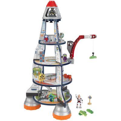 Fusée à construire avec figurines  par KidKraft