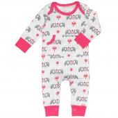 Combinaison pyjama éléphant (3-6 mois : 60 à 67 cm) - Fresk