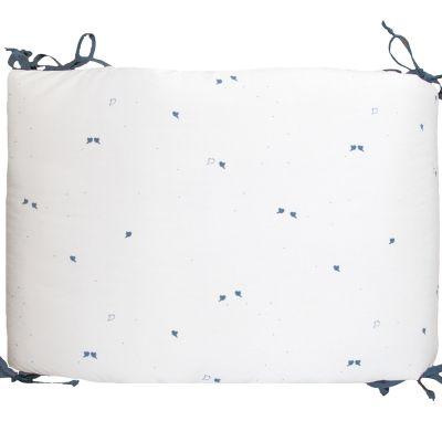 Tour de lit Oiseaux bleus (pour lits 60 x 120 cm et 70 x 140 cm)