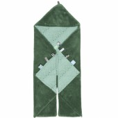 Couverture nomade Trendy wrapping Forest green (80 x 80 cm) - Snoozebaby