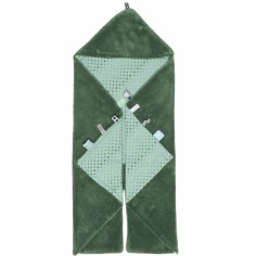 Couverture nomade Trendy wrapping Forest green (80 x 80 cm)