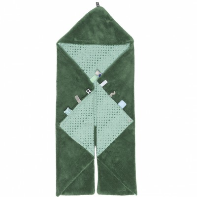Couverture nomade Trendy wrapping Forest green (80 x 80 cm)  par Snoozebaby