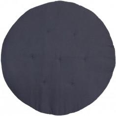 Tapis de jeu matelassé gris graphite
