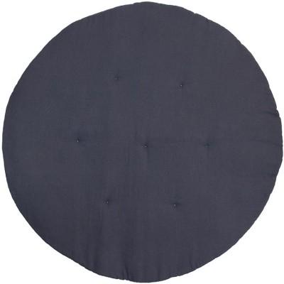 Tapis de jeu matelassé gris graphite  par Cotton&Sweets