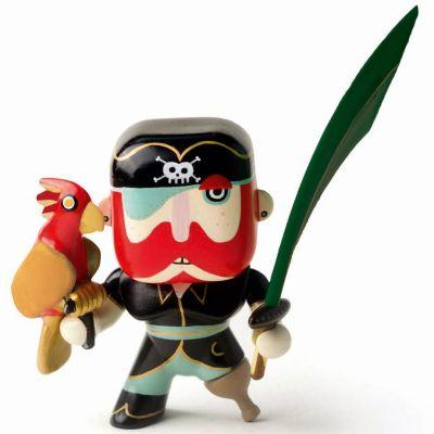 Figurine pirate Sam Parrot (11 cm)  par Djeco