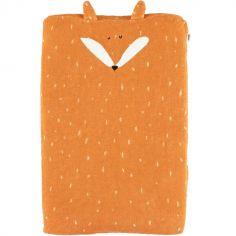 Housse de matelas à langer renard Mr. Fox (45 x 68 cm)