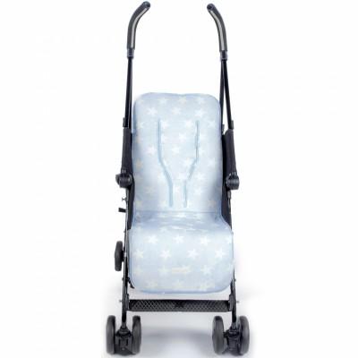 Assise universelle pour poussette Elodie bleu  par Pasito a pasito