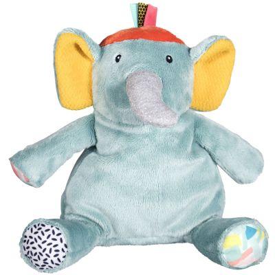 Peluche Ziggy l'éléphant Jungle Boogie (25 cm) Ebulobo