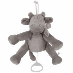 Doudou musical Lola vache à suspendre Poudre d'étoiles (20 cm)