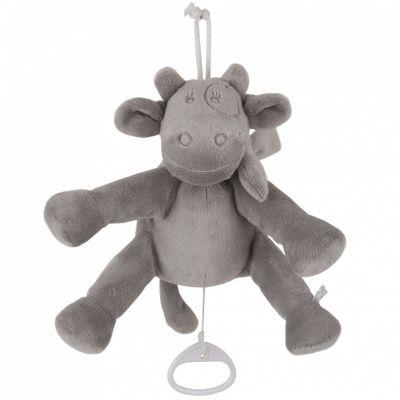 Doudou musical Lola vache à suspendre Poudre d'étoiles (20 cm)  Noukie's