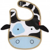 Bavoir à poche Zoo vache - Skip Hop