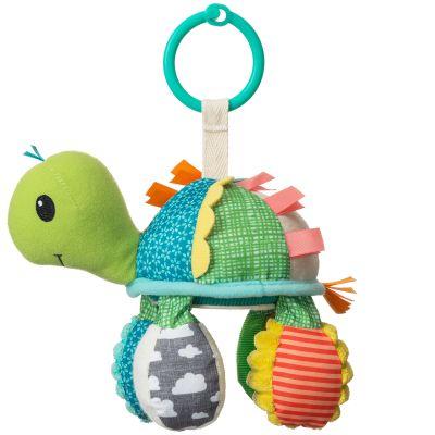 Jouet d'activités à suspendre tortue miroir