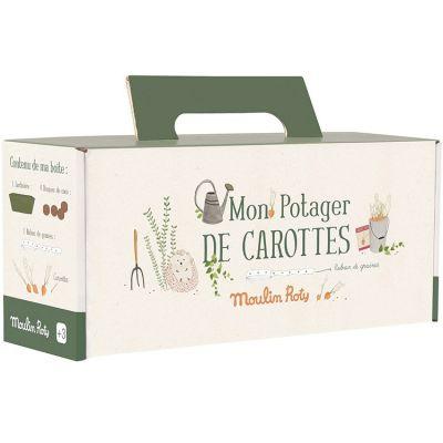 Kit jardinière verte carottes Le Jardin du Moulin  par Moulin Roty