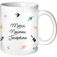 Mug Nounou Capsule (personnalisable)