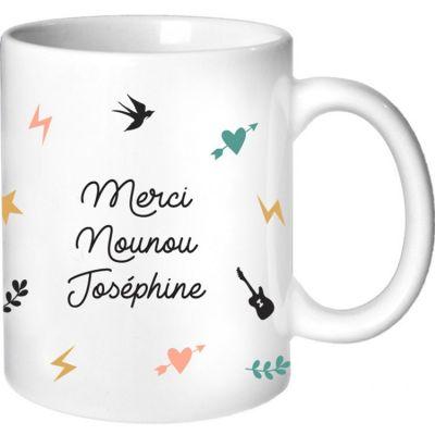 Mug Nounou Capsule (personnalisable)  par Les Griottes