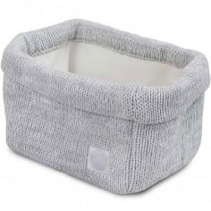 Panier de toilette Melange knit gris