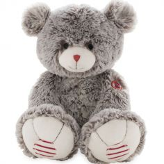 Peluche ours Rouge Kaloo grise (38 cm)