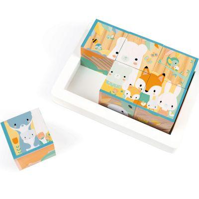 Puzzle cube Pure (6 cubes)  par Janod