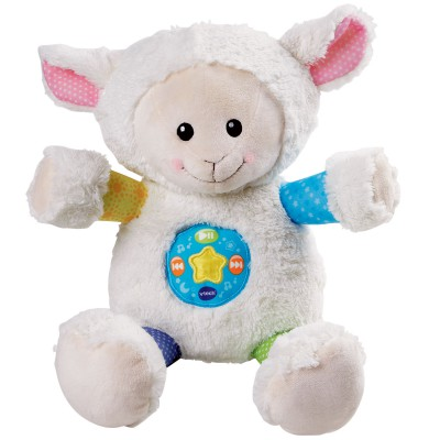 peluche musicale mon mouton 1001 chansons 28 cm vtech. Black Bedroom Furniture Sets. Home Design Ideas