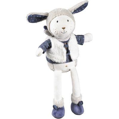 Peluche Merlin mouton (25 cm) Sauthon Baby Déco