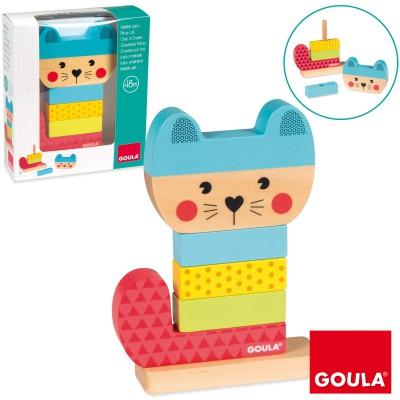 Jeu à empiler chat  par Goula