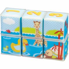 Cubes de bain Sophie la girafe Fresh Touch (6 pièces)