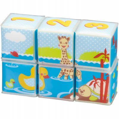 Cubes de bain Sophie la girafe Fresh Touch (6 pièces)  par Sophie la girafe
