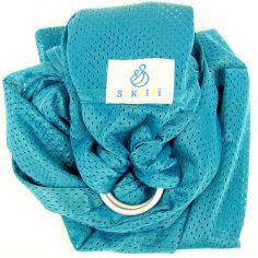 Echarpe de portage Sling Sukkiri bleu émeraude