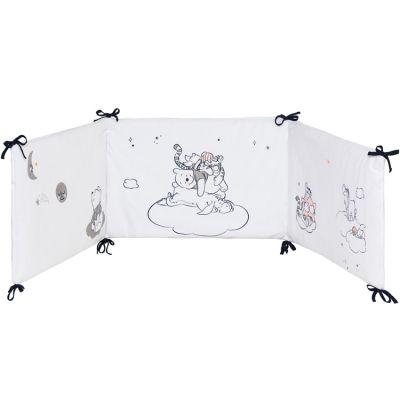 Tour de lit adaptable Winnie l'ourson Moon (pour lits 60 x 120 et 70 x 140 cm)  par Babycalin