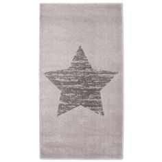 Tapis enfant Lucero étoile gris (80 x 150 cm)