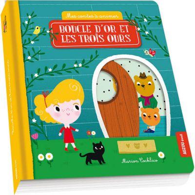 Livre Boucle d'or et les trois ours (collection Mes contes à animer)  par Auzou Editions
