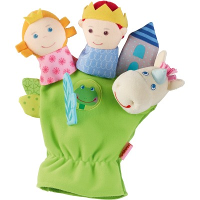 Gant marionnette Prince et princesse de contes de fées Haba