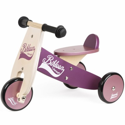 Porteur Little Bikloon violet et rose Janod