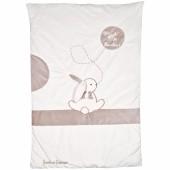Edredon Mon tout petit lapin (80 x 120 cm) - Doudou et Compagnie
